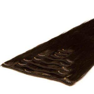 Ekstenzije na Češljiće 50cm 70g 1C Moka smeđa-0