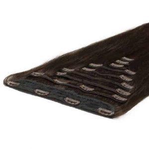 Deluxe Ekstenzije na Češljiće 50cm 200g 02 Tamno Smeđa-0