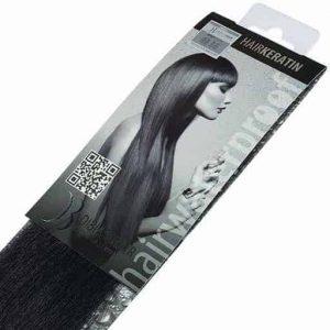 Keratinske ekstenzije Di Biase Hair 40cm 20kom 1B-0