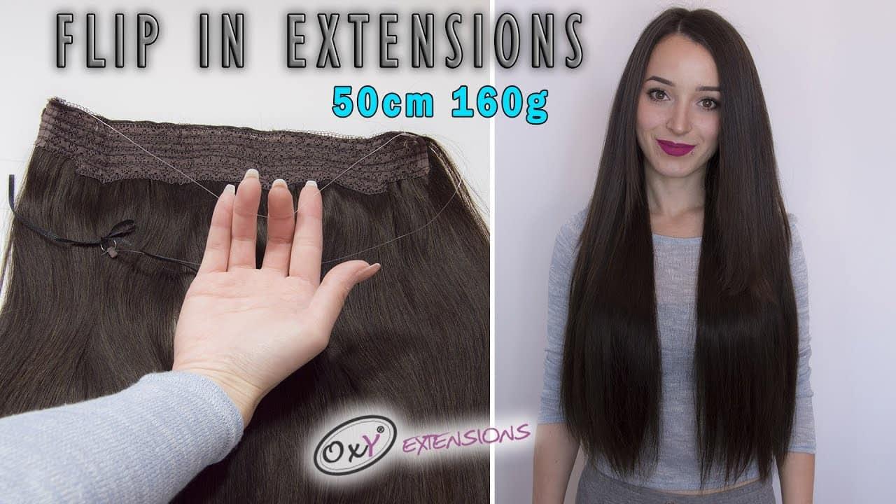 Premium Flip in ekstenzije 55cm 160g